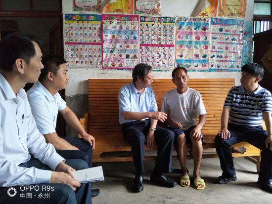 长丰集团党委书记、董事长李建新带队深入新塘村指导精准扶贫