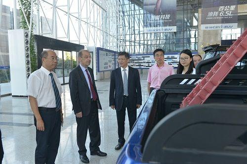 法国Pilote集团董事长菲利浦先生访问猎豹汽车