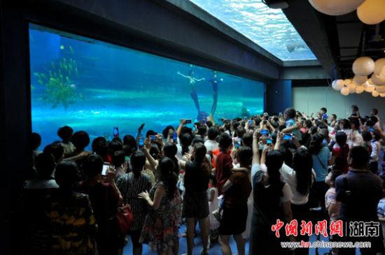 首批体验员游玩湖南首个颠覆式创新乐园