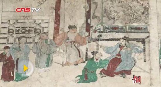 桂阳发现家礼家训壁画