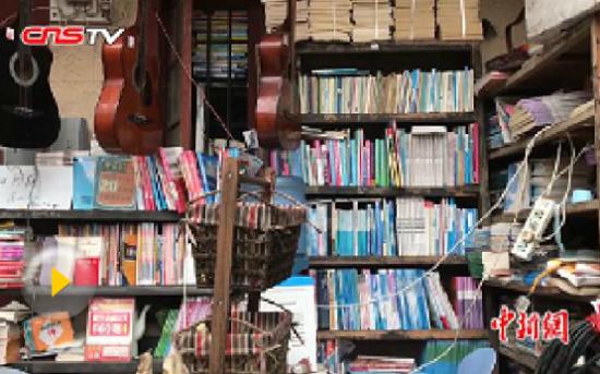 长沙一大学城无人书店