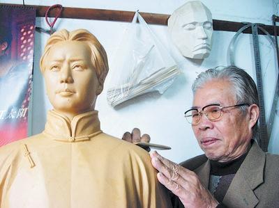 61尊毛主席塑像献礼国庆61周年 重现毛主席风采