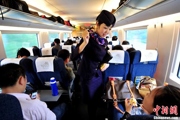 长深高铁直通 长沙坐高铁直达深圳仅3个多小时