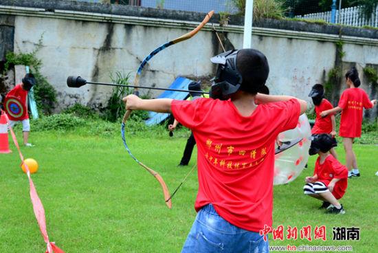 70名登山结构郴州湖南畅享儿童青少年体育夏留守杖的全国图解图片