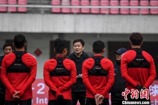 中国足协U-21选拔队长沙备战国际友谊赛 孙继海带队