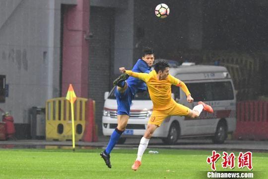 中国U-21选拔队0:0平泰国延续不败