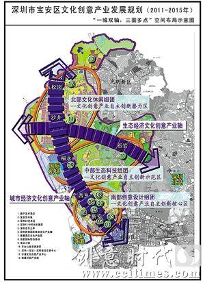 宝安区新安街道地图